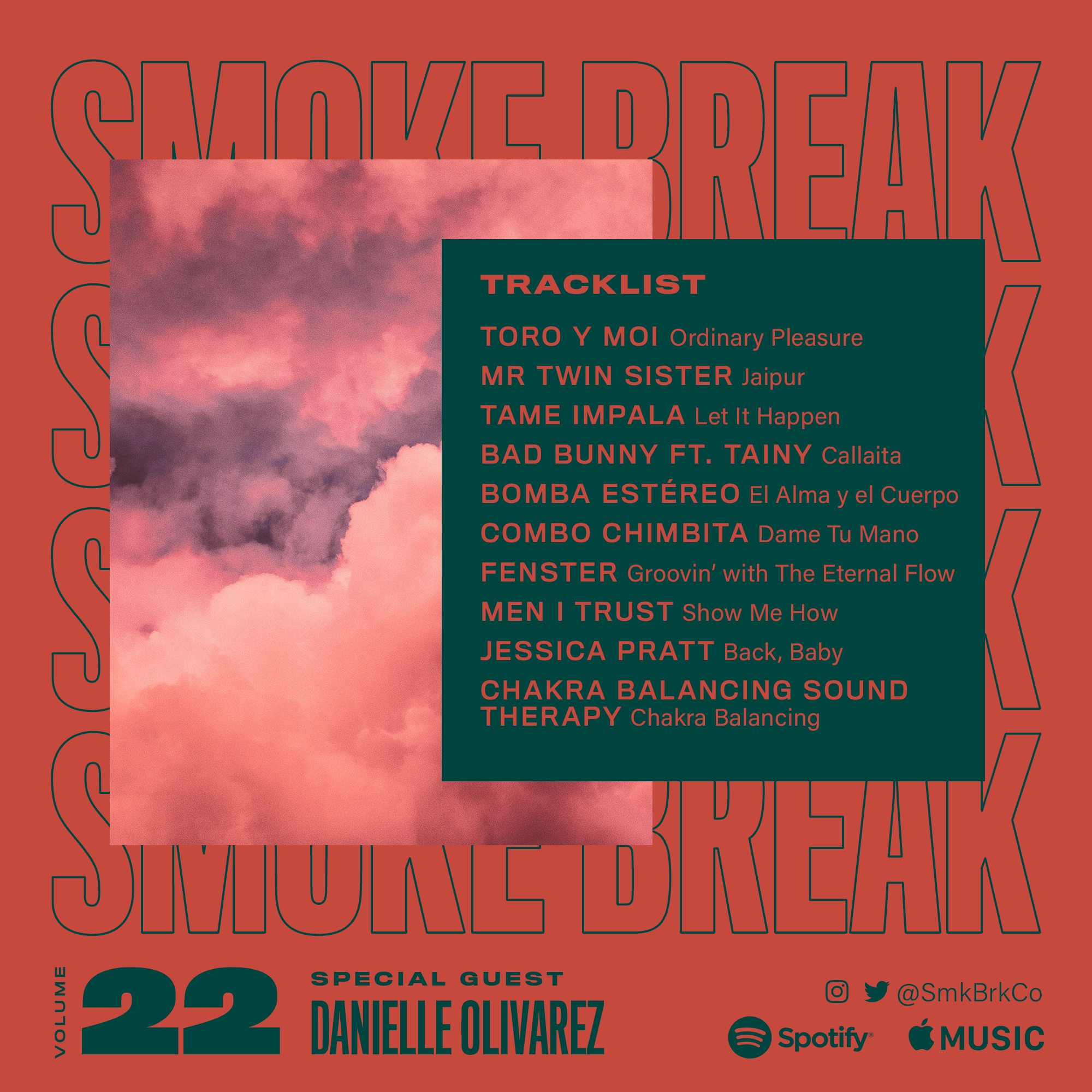 SMK BRK playlist vol 22 back cover