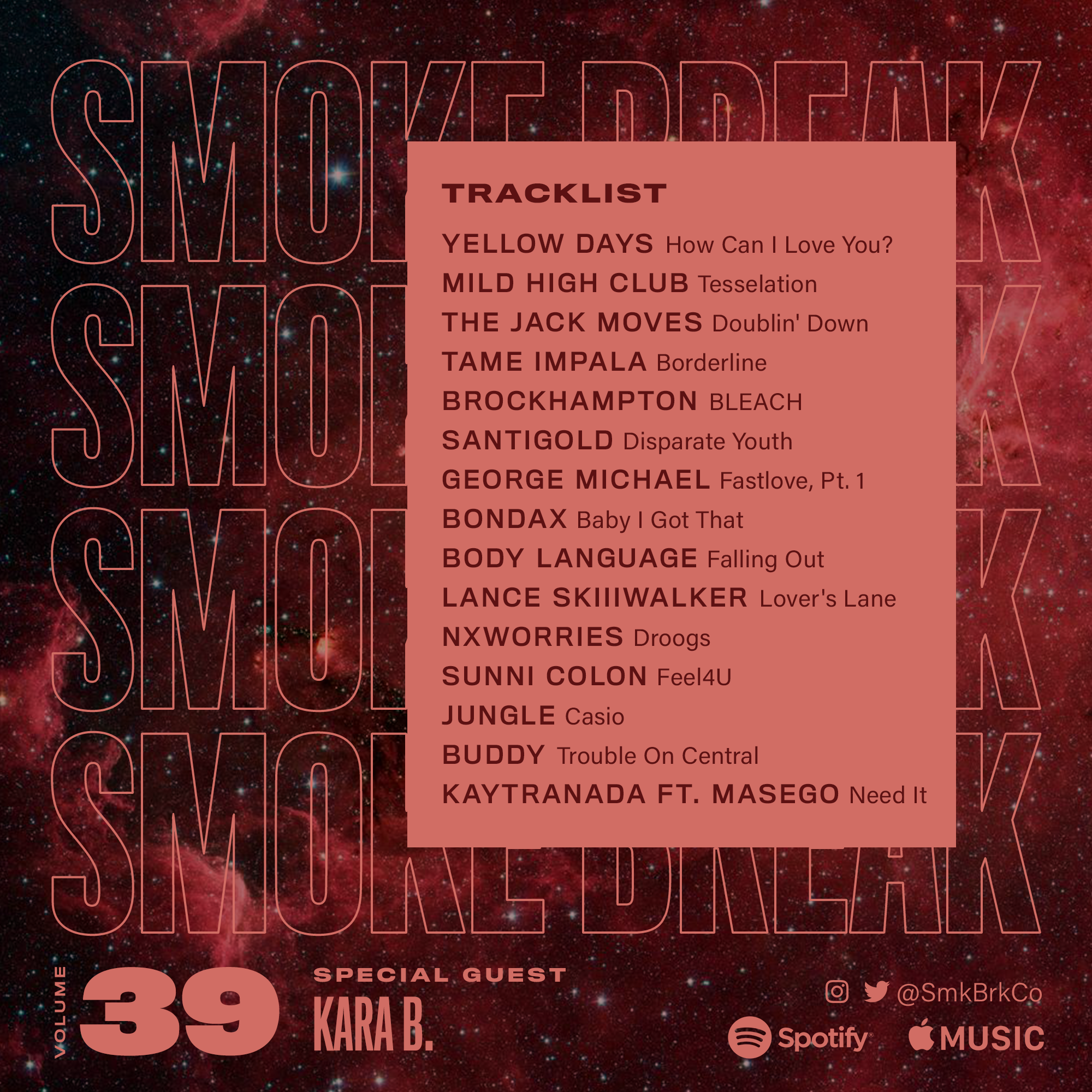 SMK BRK playlist vol 39 back cover