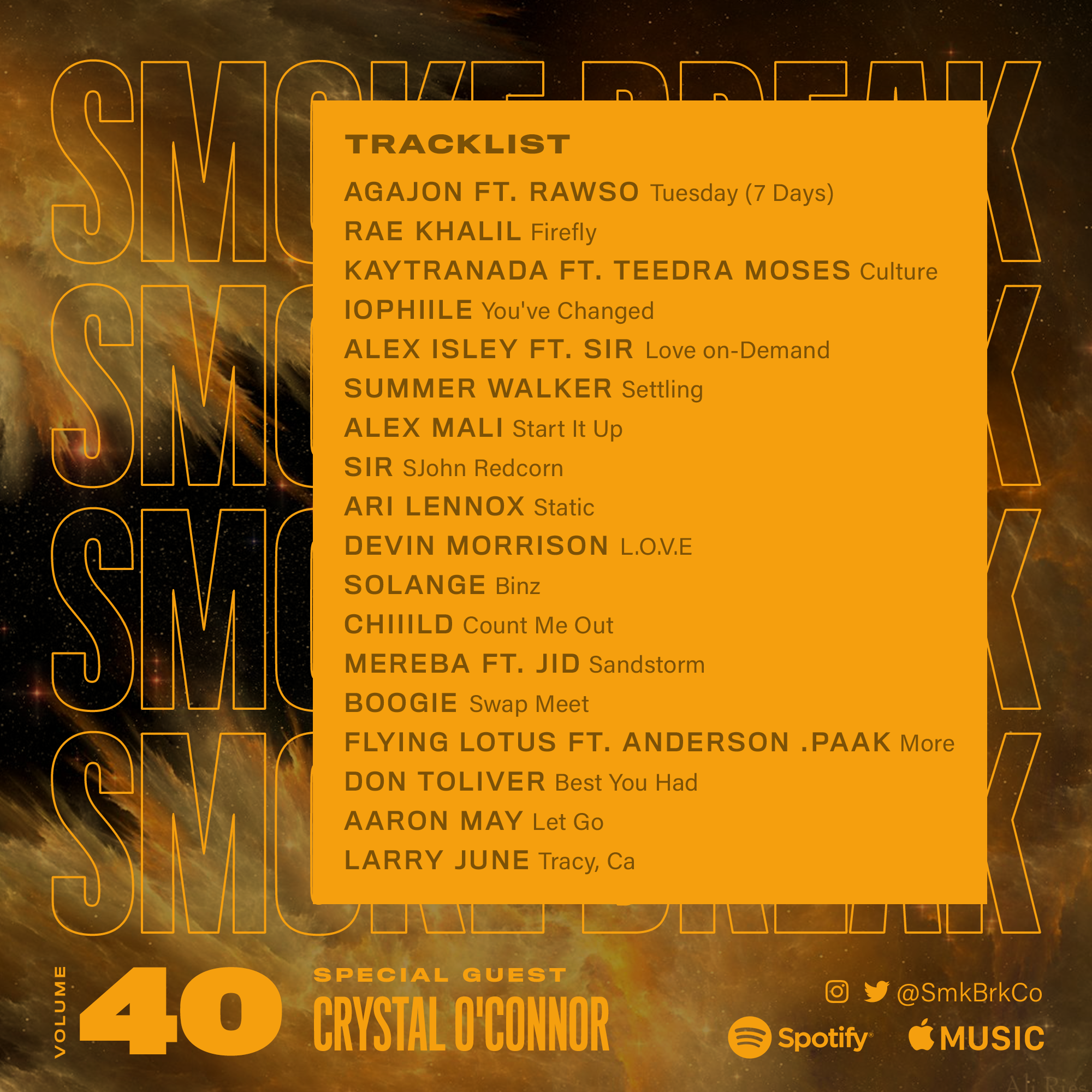SMK BRK playlist vol 40 back cover