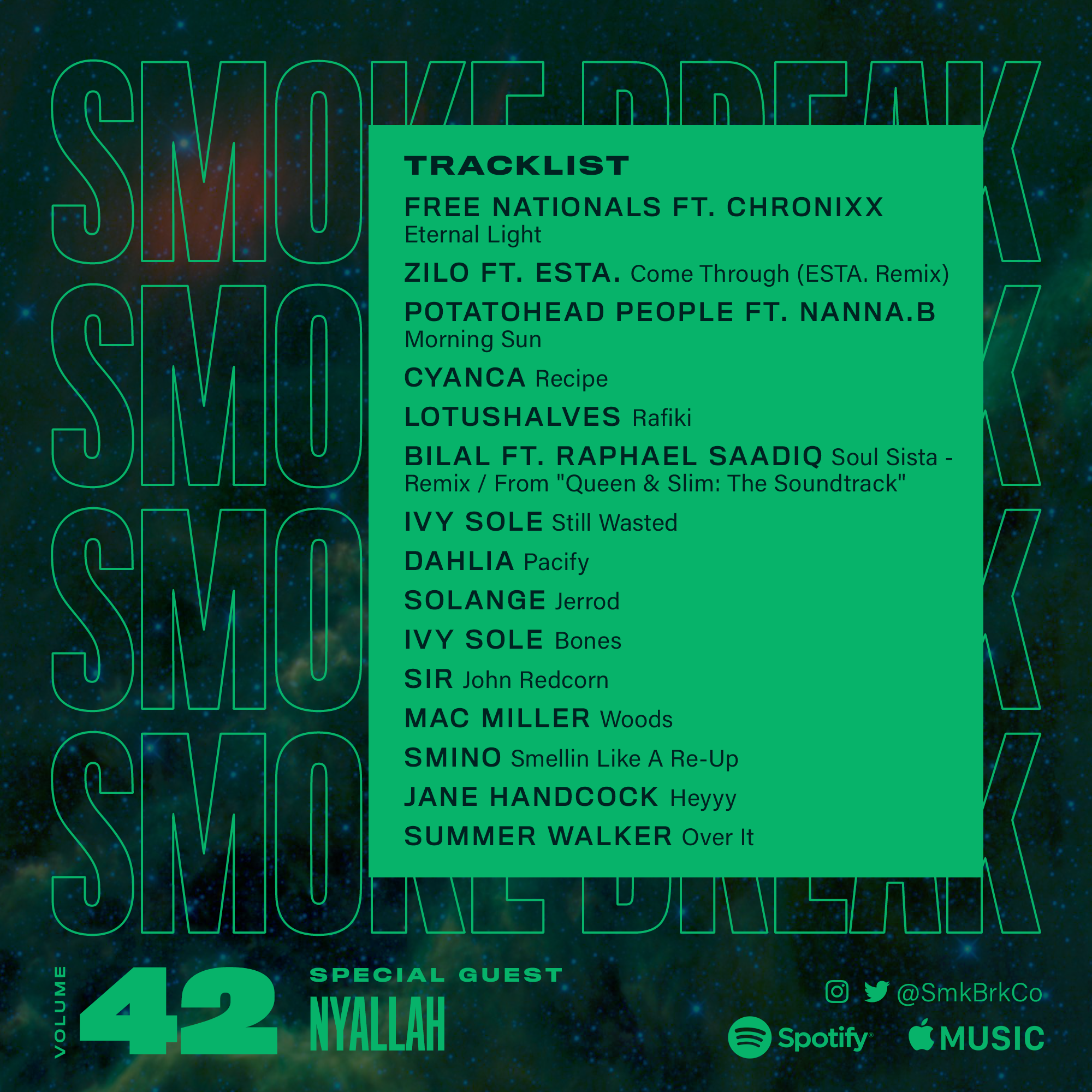 SMK BRK playlist vol 42 back cover