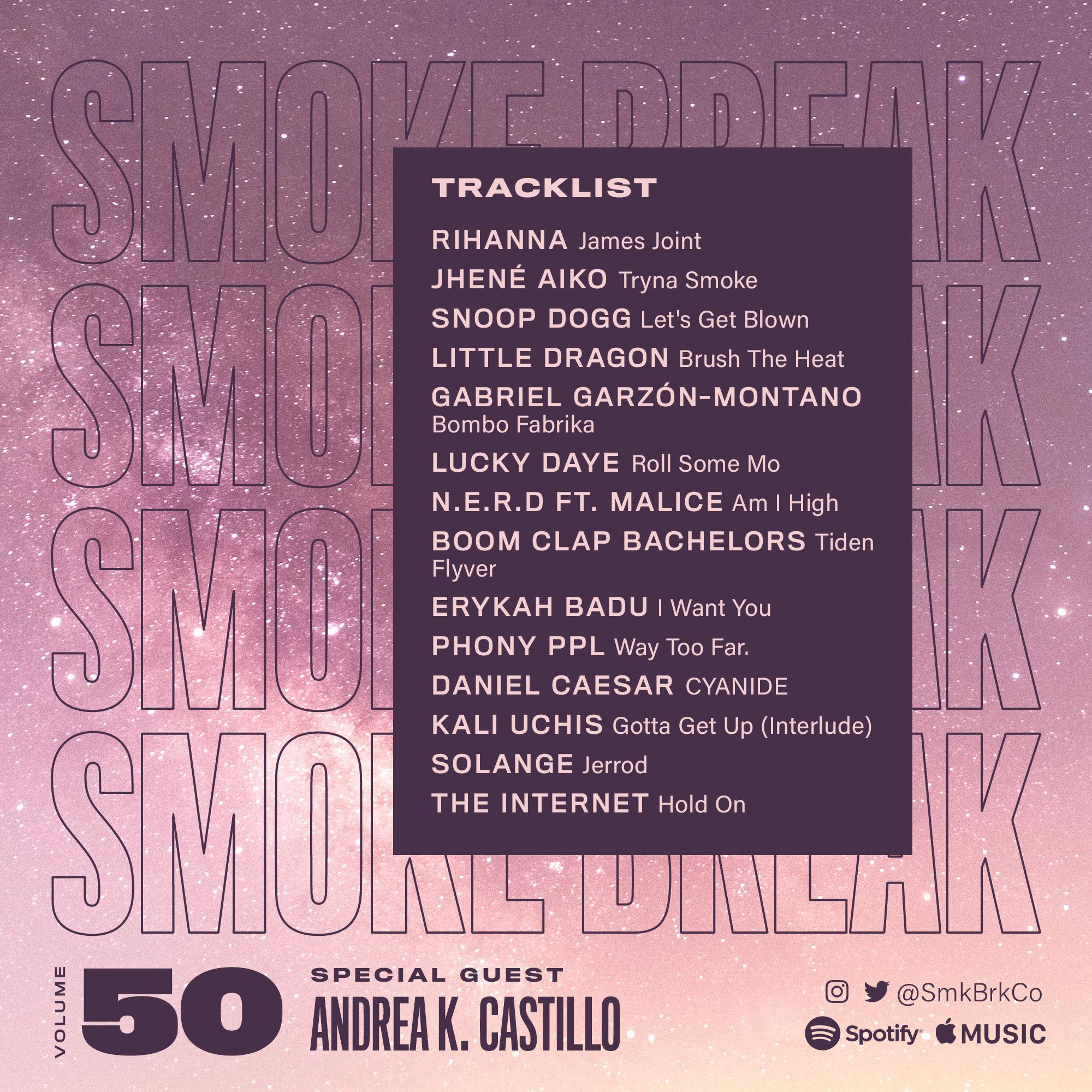SMK BRK playlist vol 50 back cover