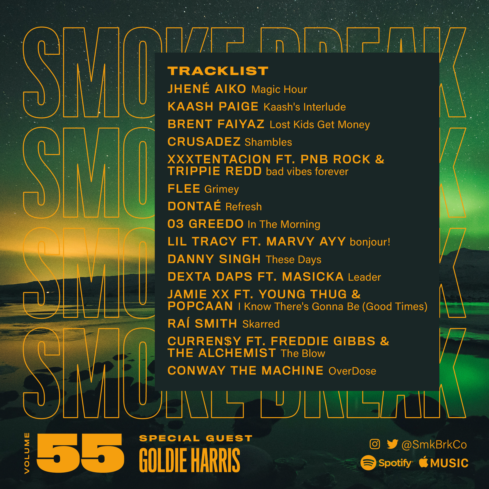 SMK BRK playlist vol 55 back cover