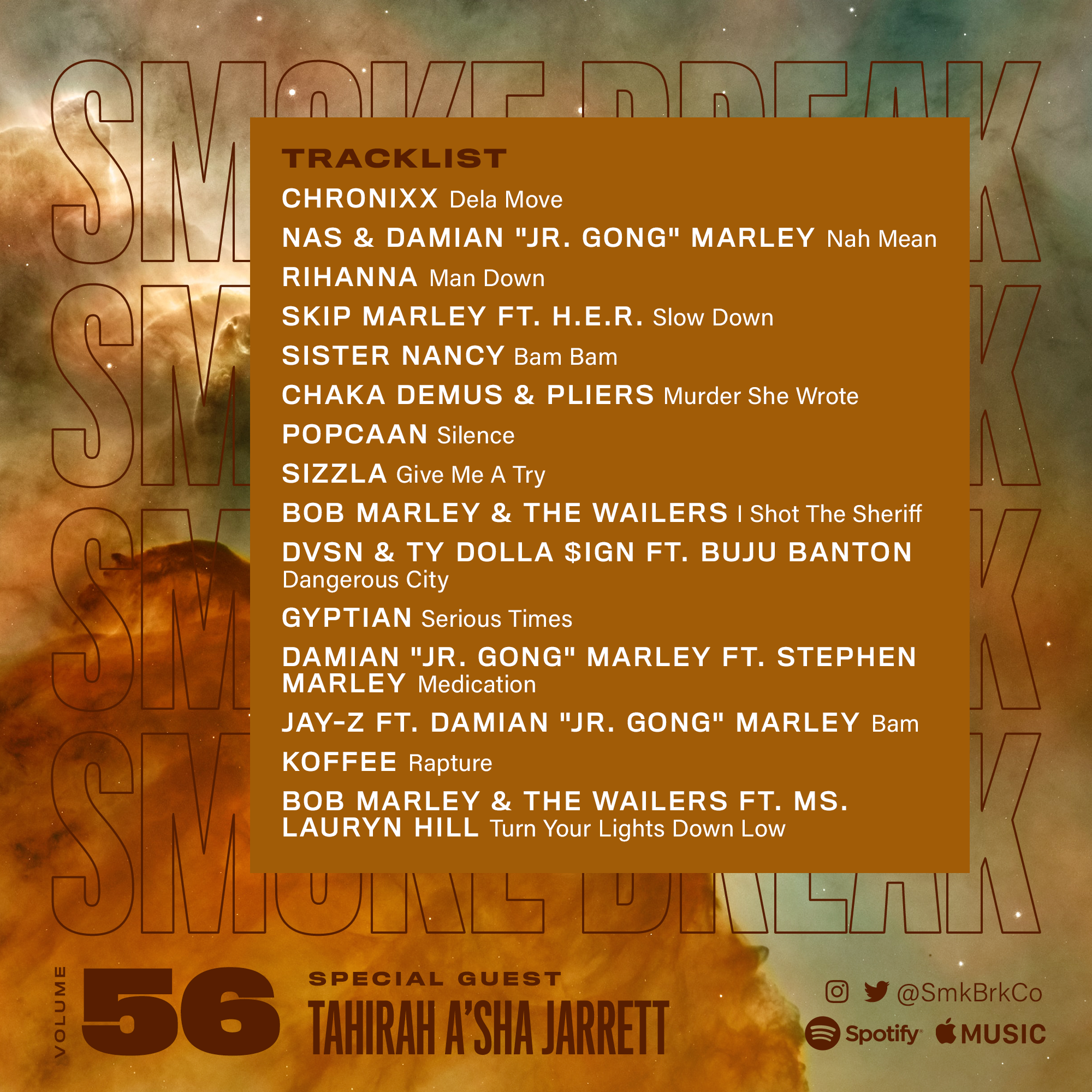 SMK BRK playlist vol 56 back cover