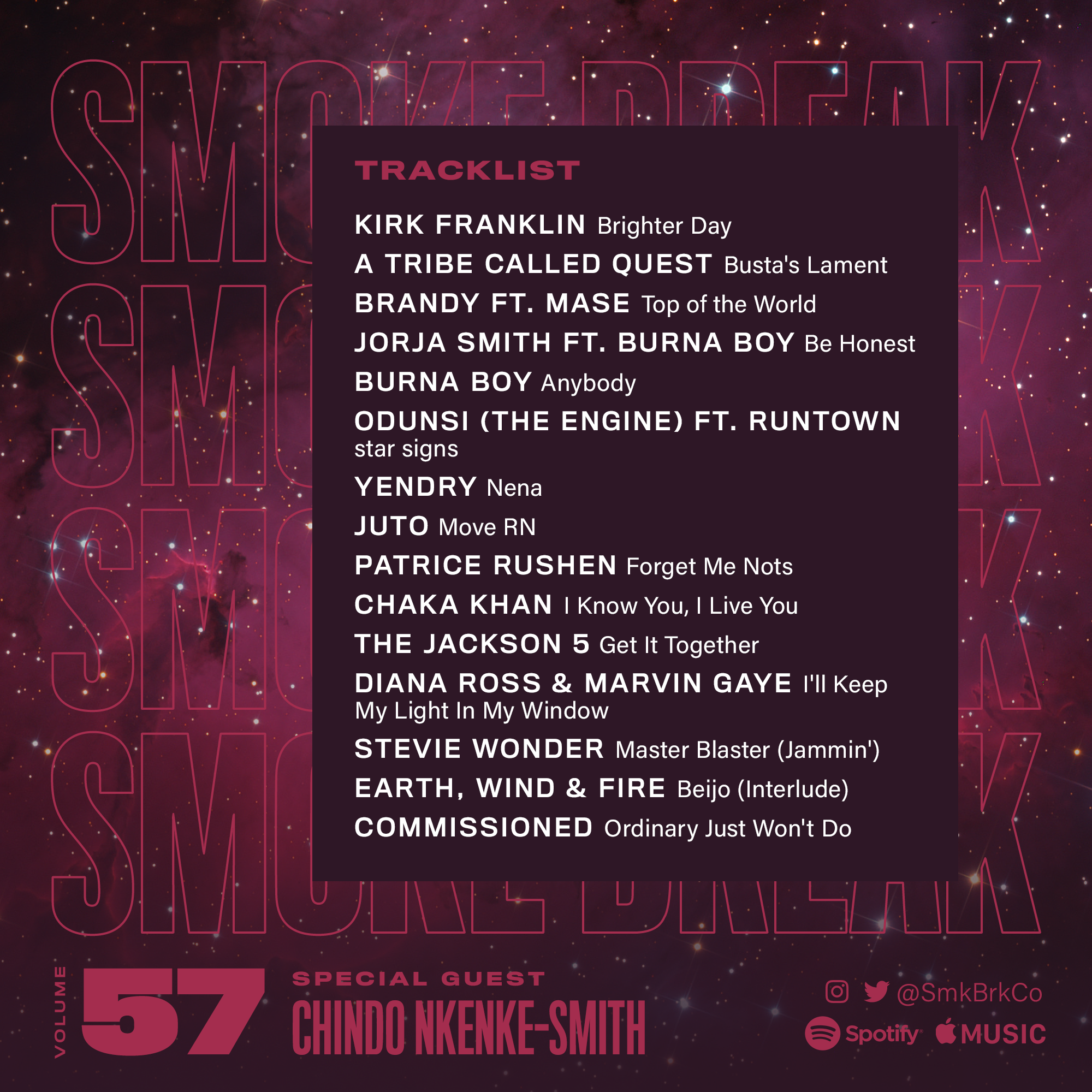 SMK BRK playlist vol 57 back cover