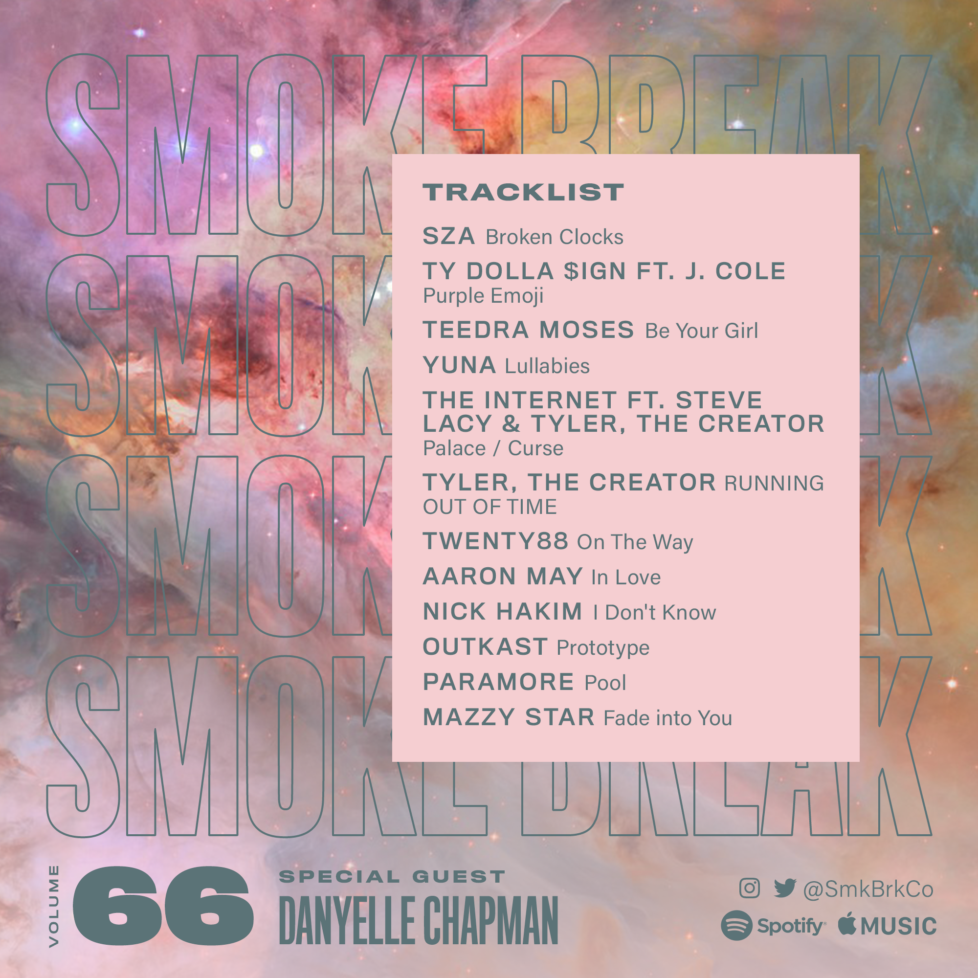SMK BRK playlist vol 66 back cover