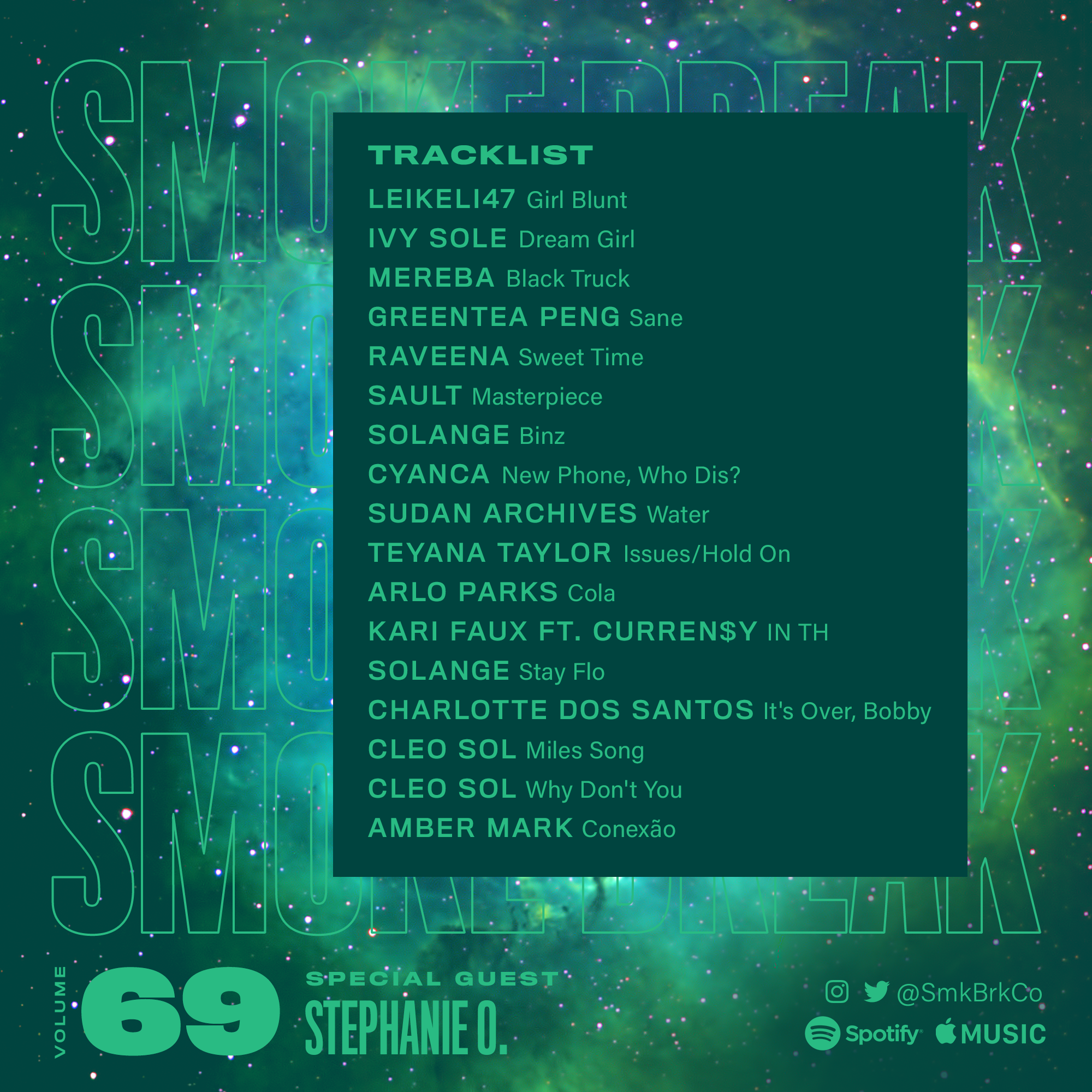 SMK BRK playlist vol 69 back cover