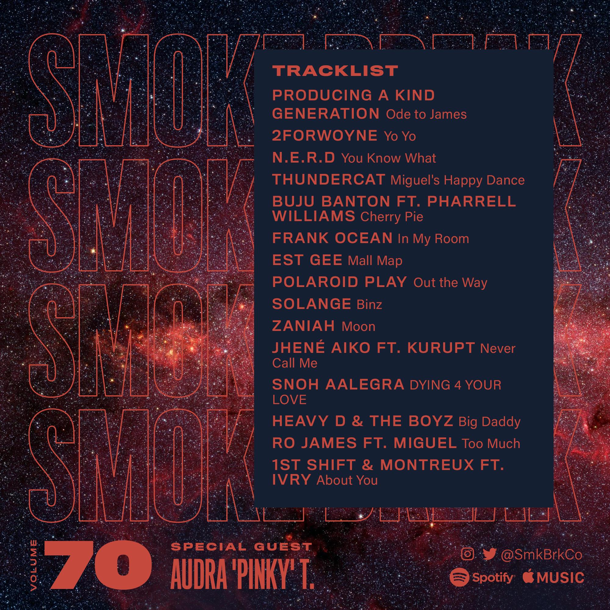 SMK BRK playlist vol 70 back cover
