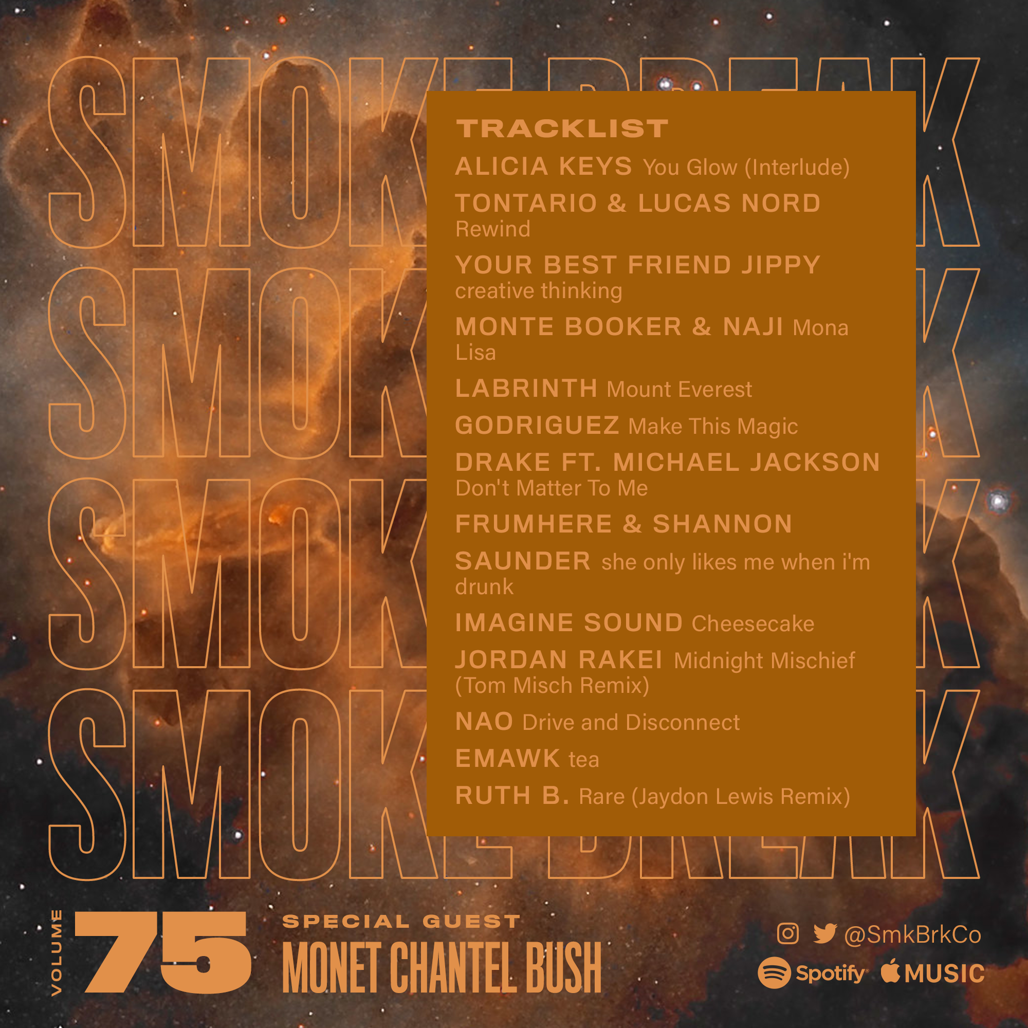 SMK BRK playlist vol 75 back cover