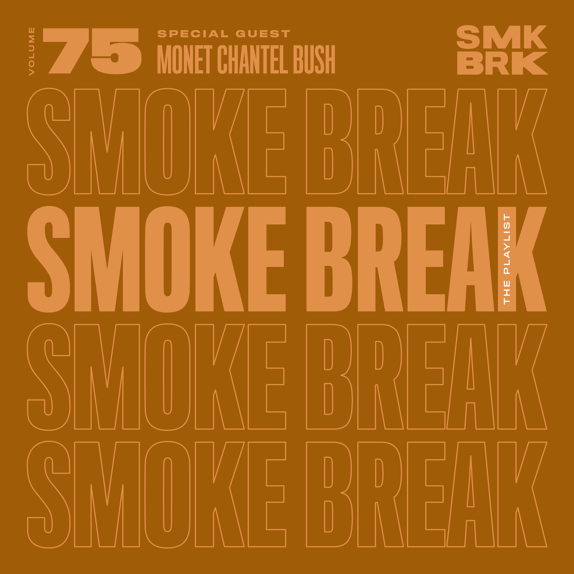 SMK BRK playlist vol 75 front cover