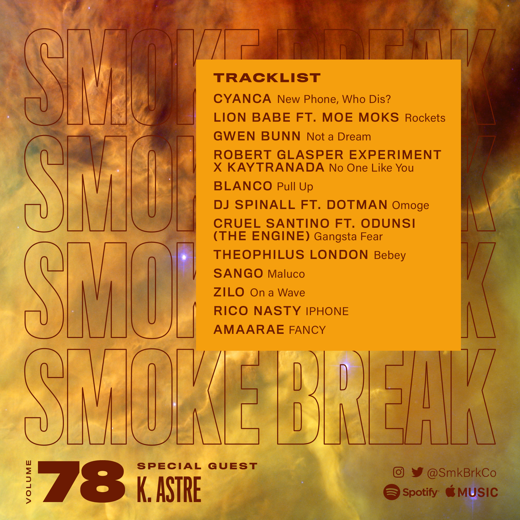 SMK BRK playlist vol 78 back cover