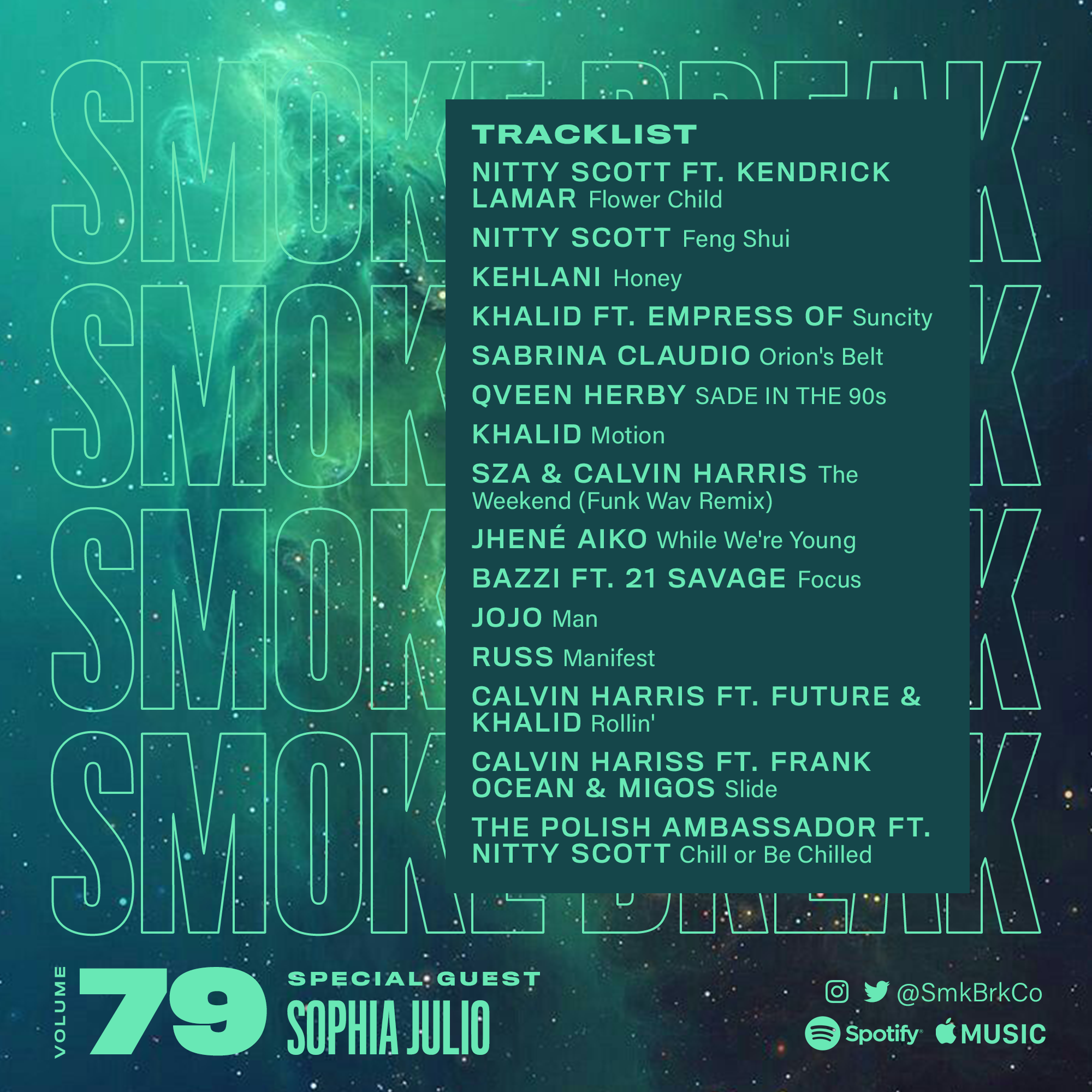SMK BRK playlist vol 79 back cover