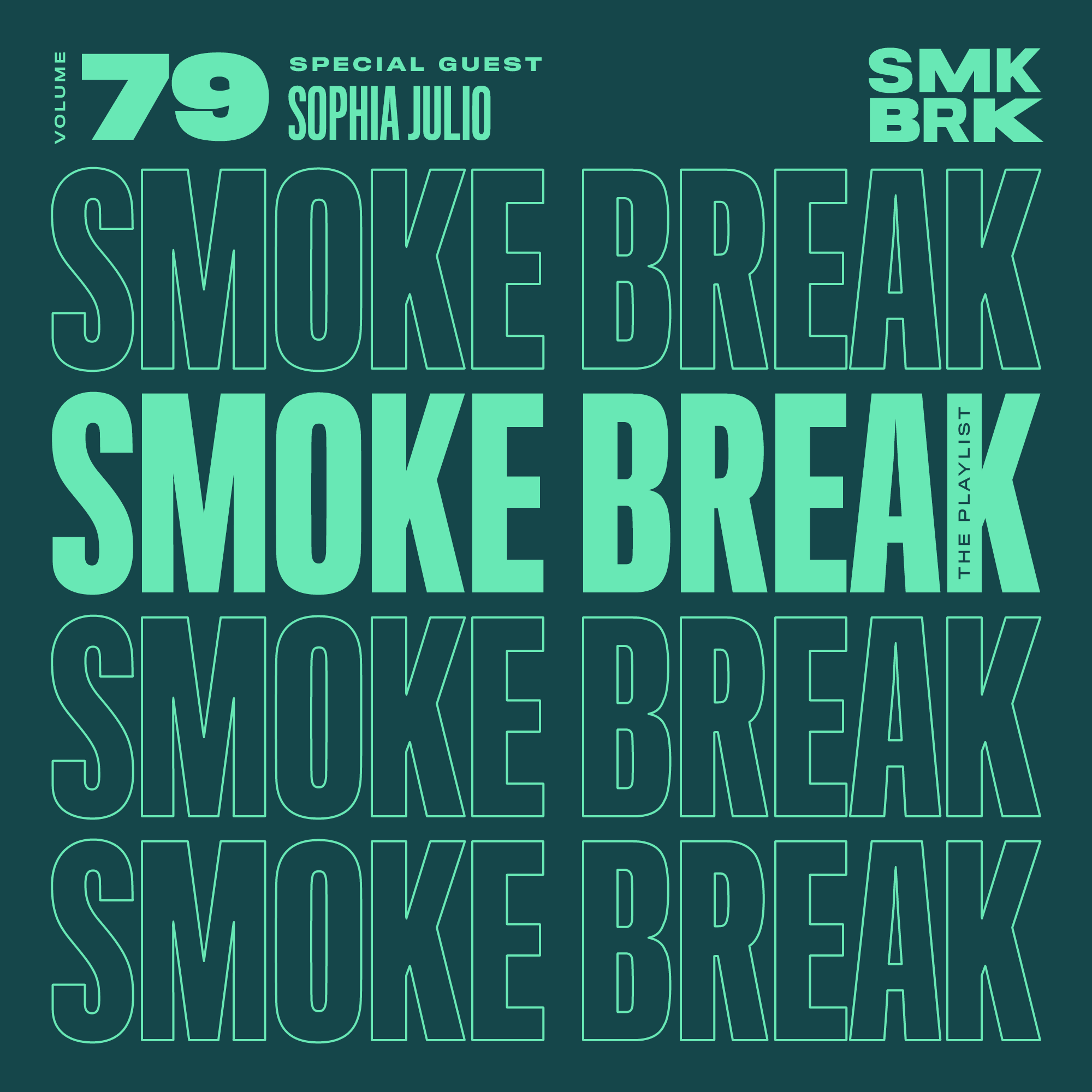 SMK BRK playlist vol 79 front cover