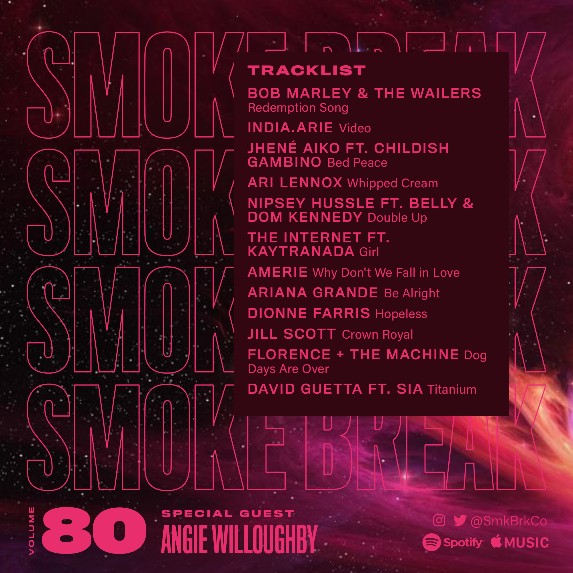 SMK BRK playlist vol 80 back cover