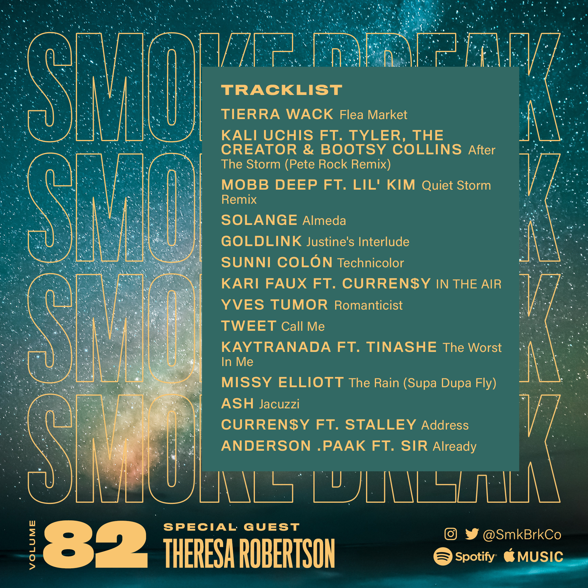 SMK BRK playlist vol 82 back cover