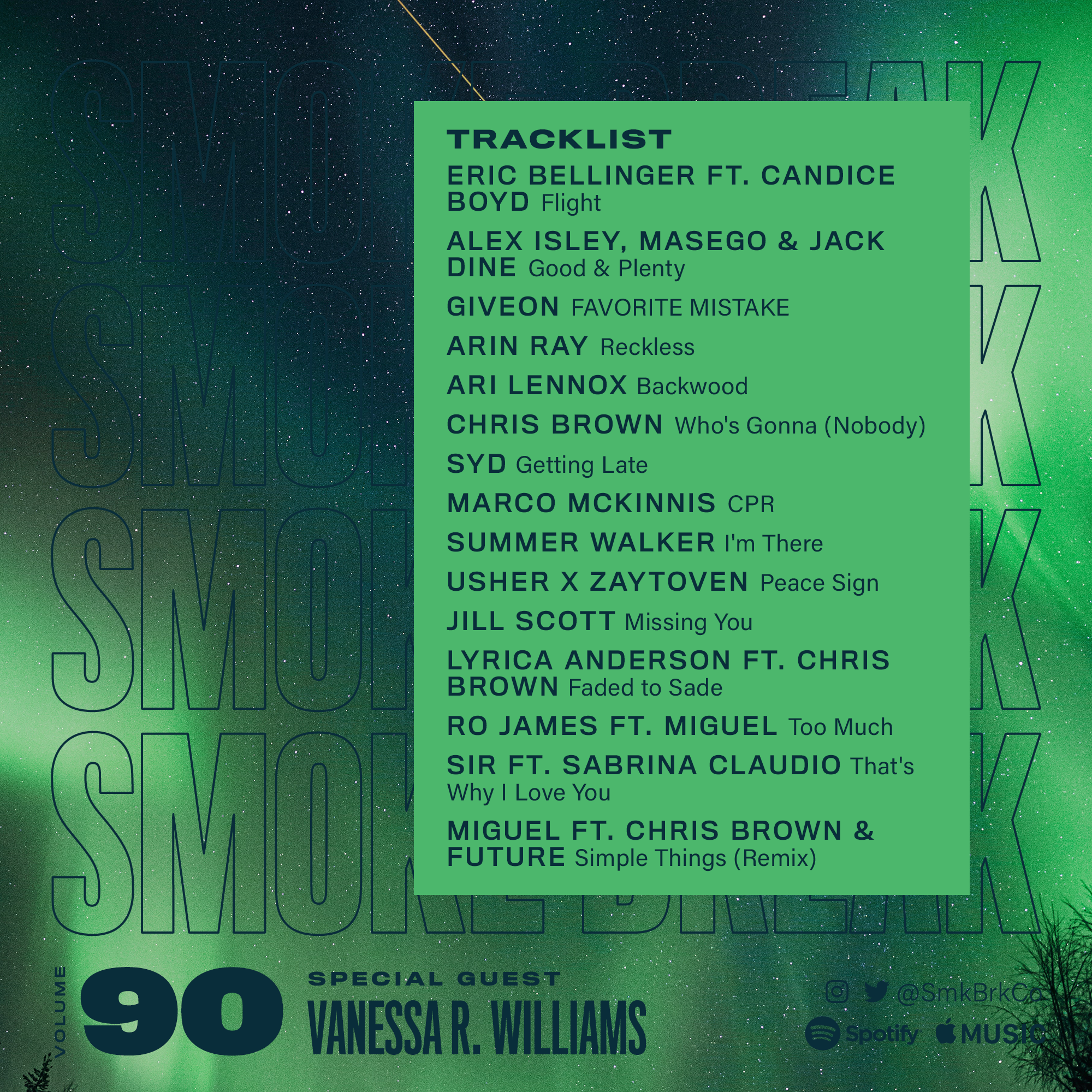 SMK BRK playlist vol 90 back cover