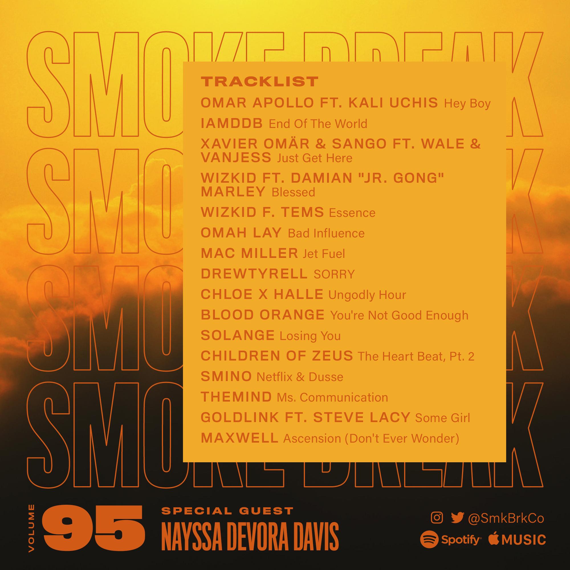 SMK BRK playlist vol 95 back cover