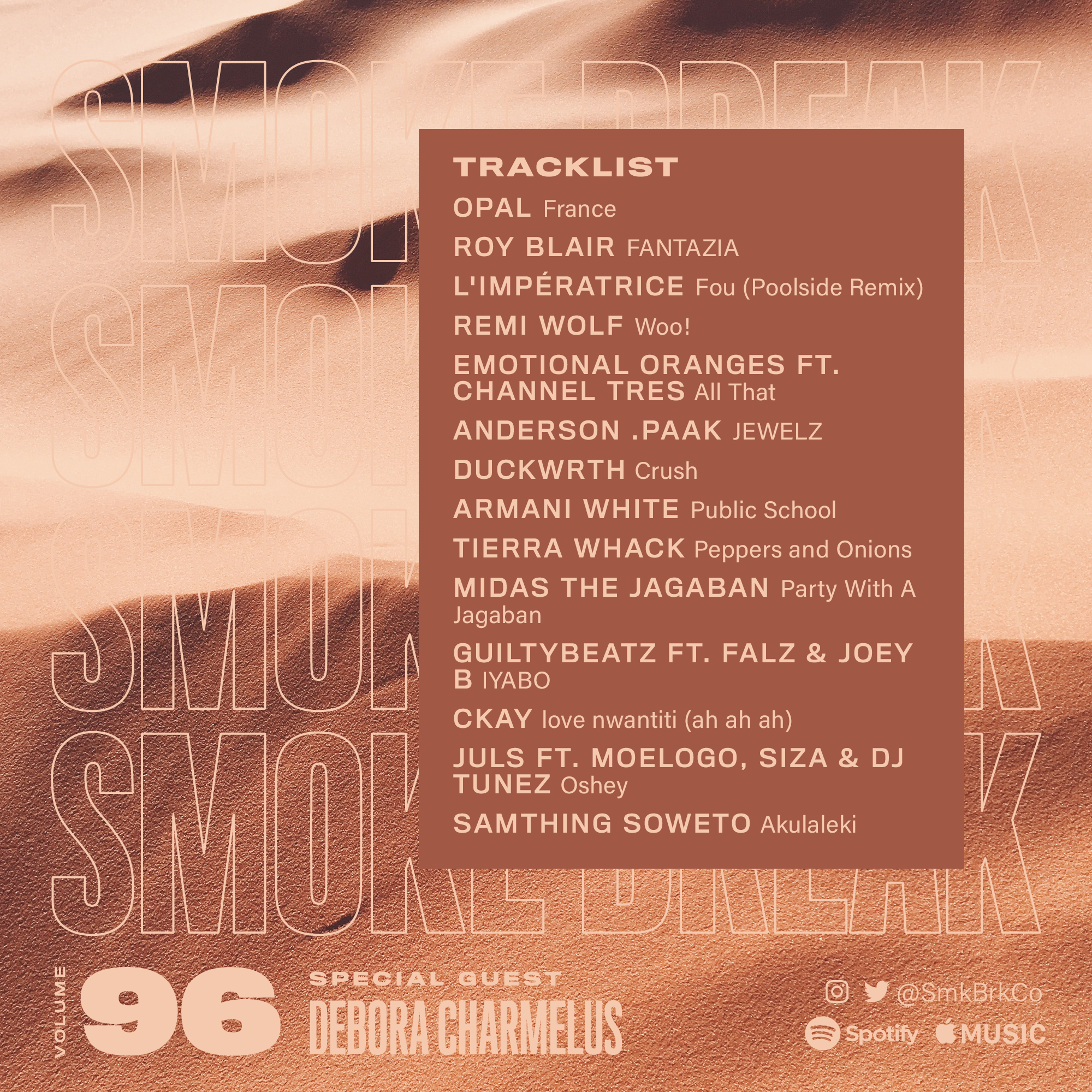 SMK BRK playlist vol 96 back cover