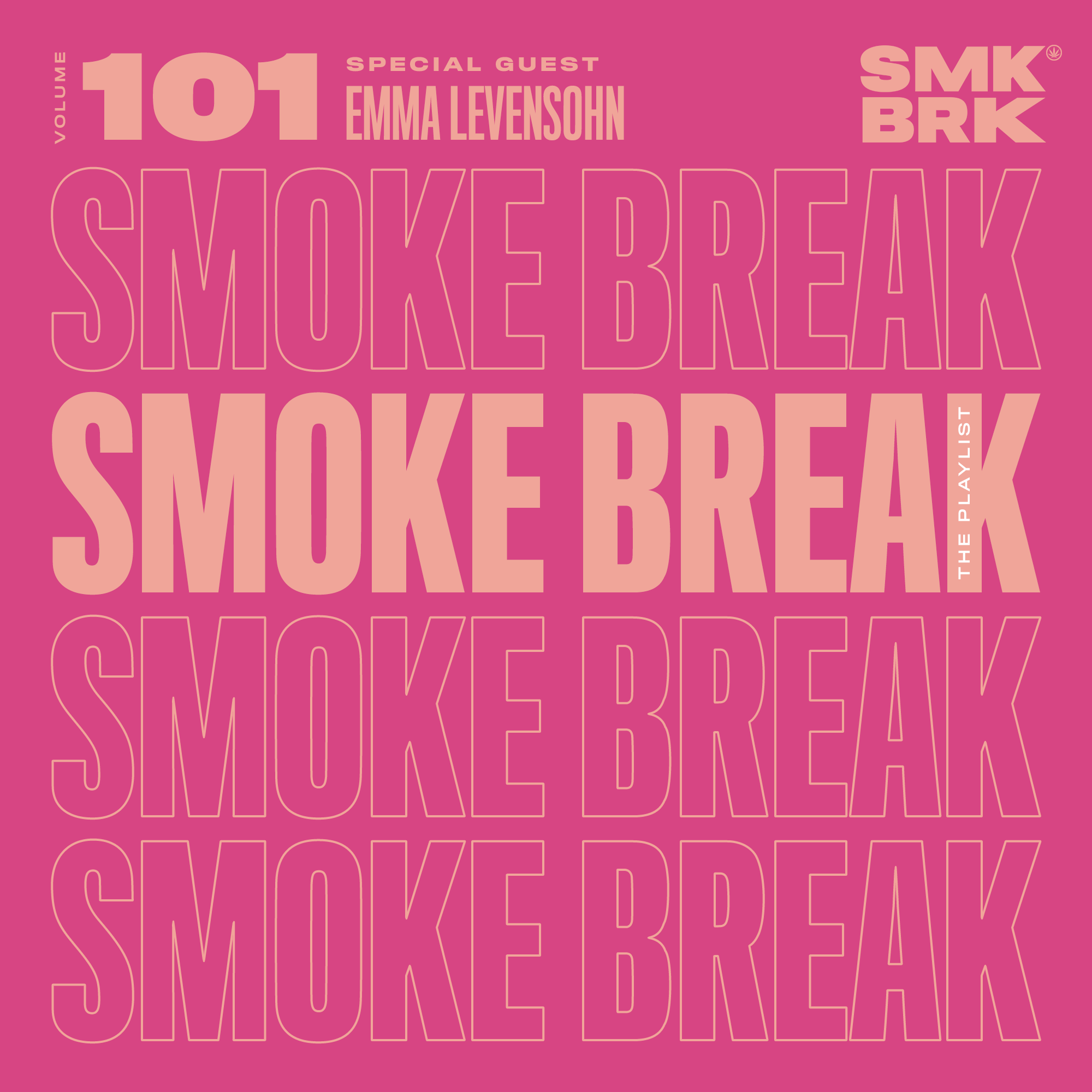 SMK BRK playlist vol 101 front cover