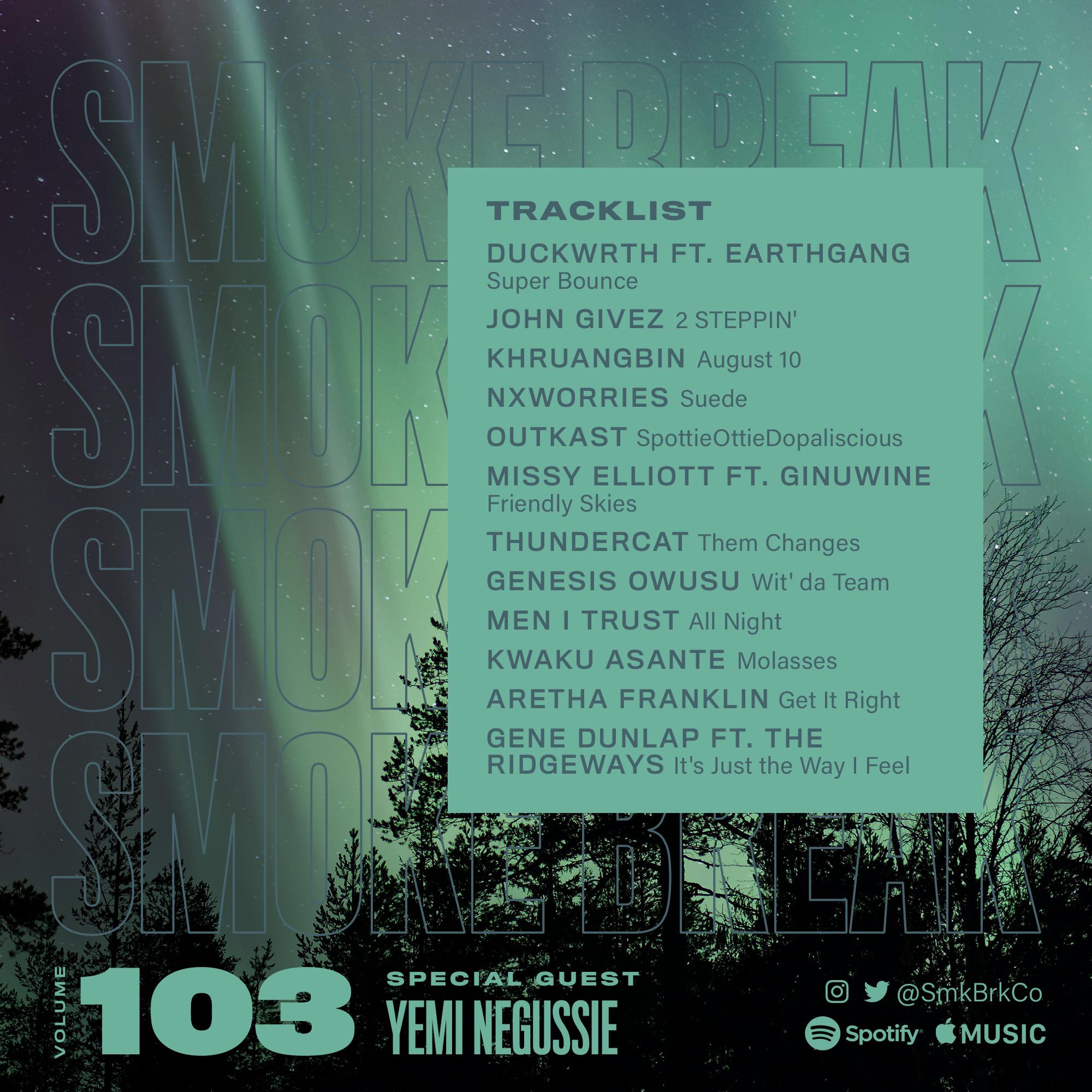 SMK BRK playlist vol 103 back cover