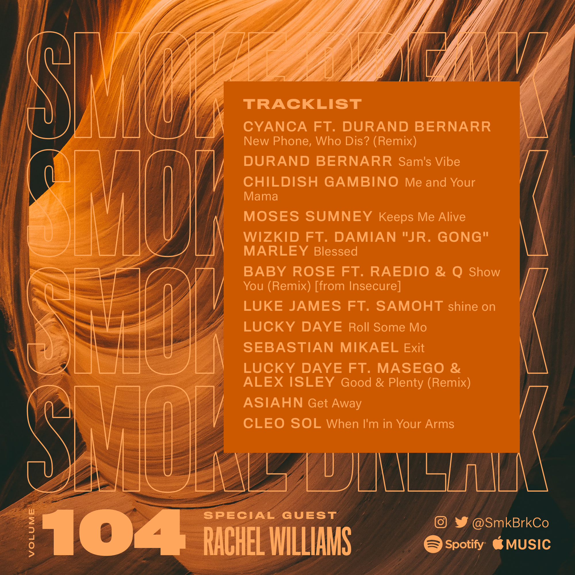 SMK BRK playlist vol 104 back cover
