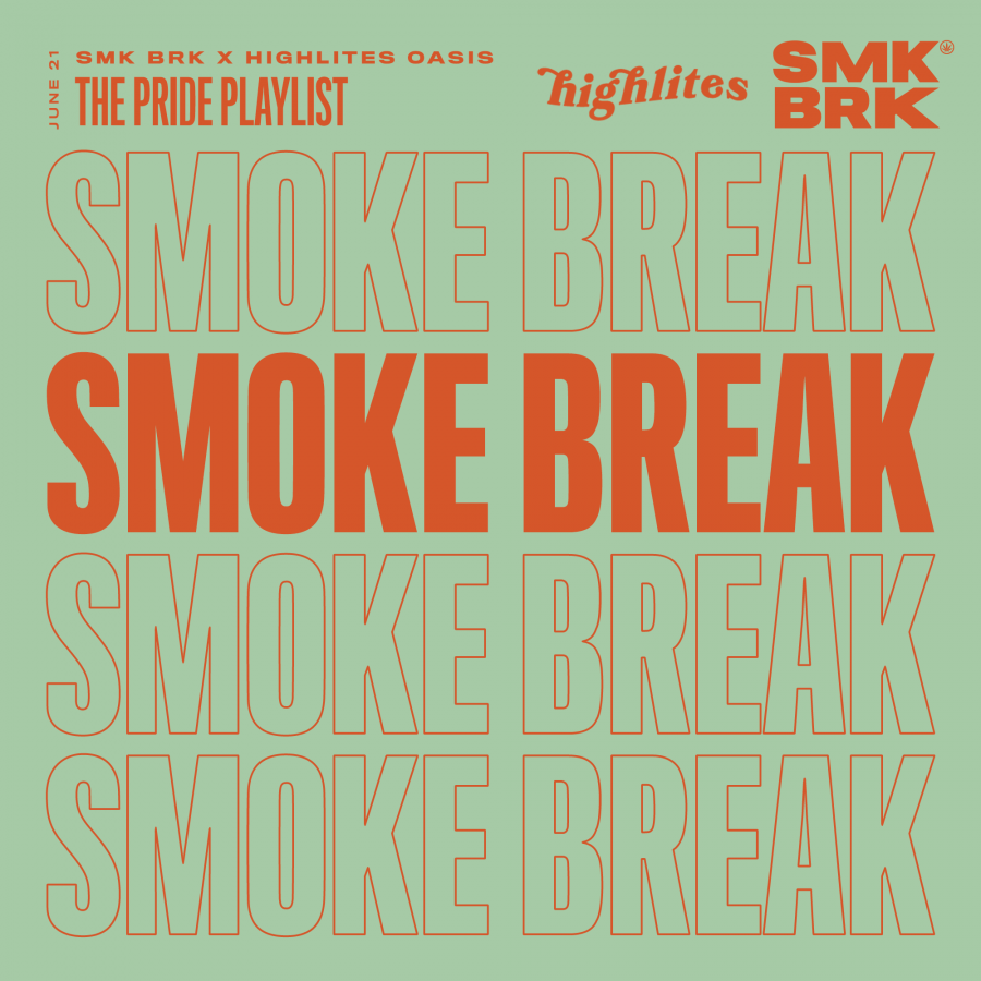 SMK BRK playlist pride 2021 high lites oasis front cover