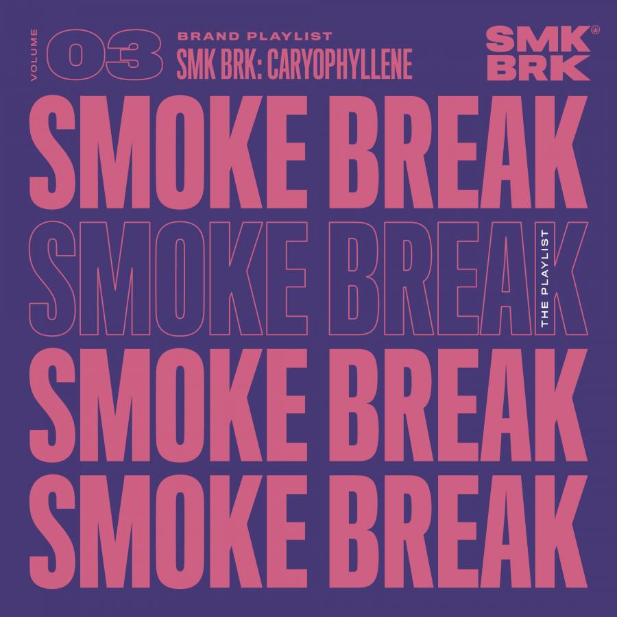 SMK BRK brand playlist vol 03 cover Caryophyllene