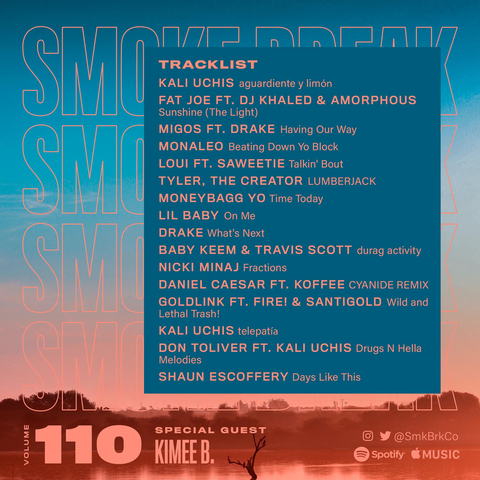SMK BRK playlist vol 110 back cover