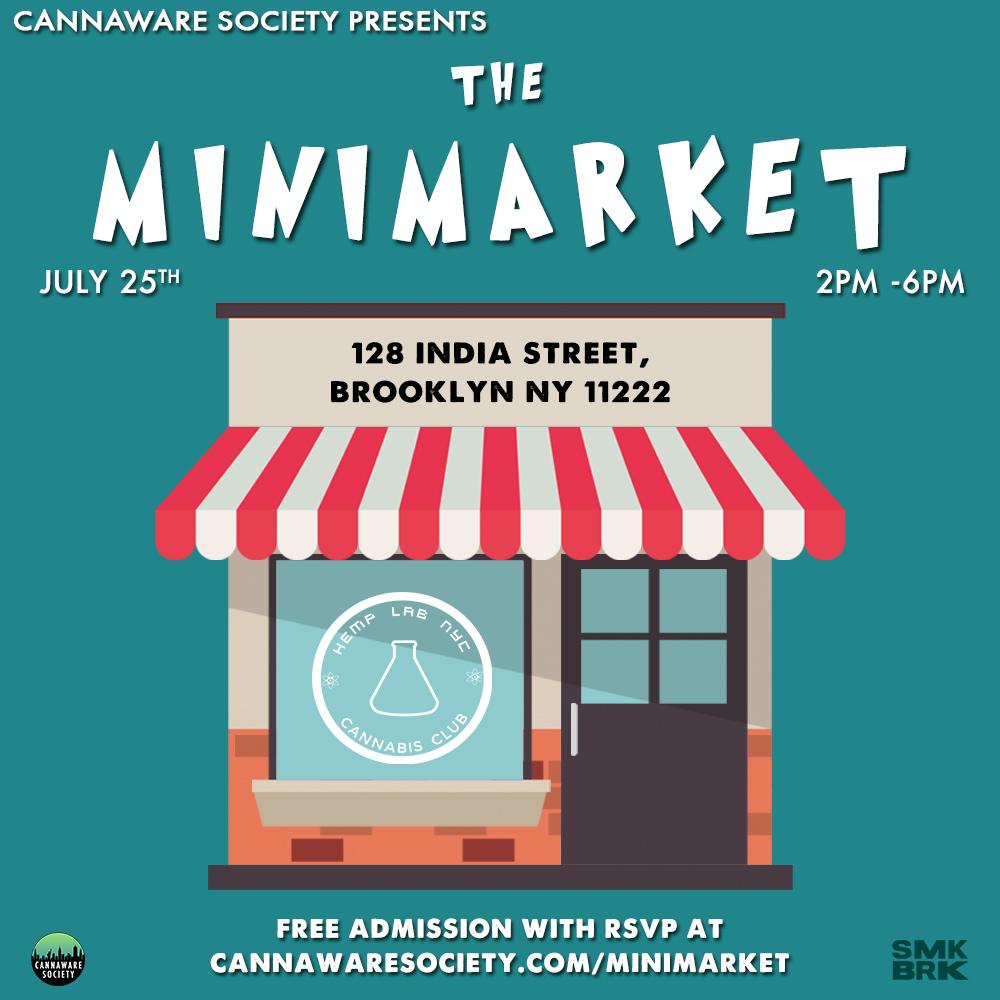 cannaware society mini market