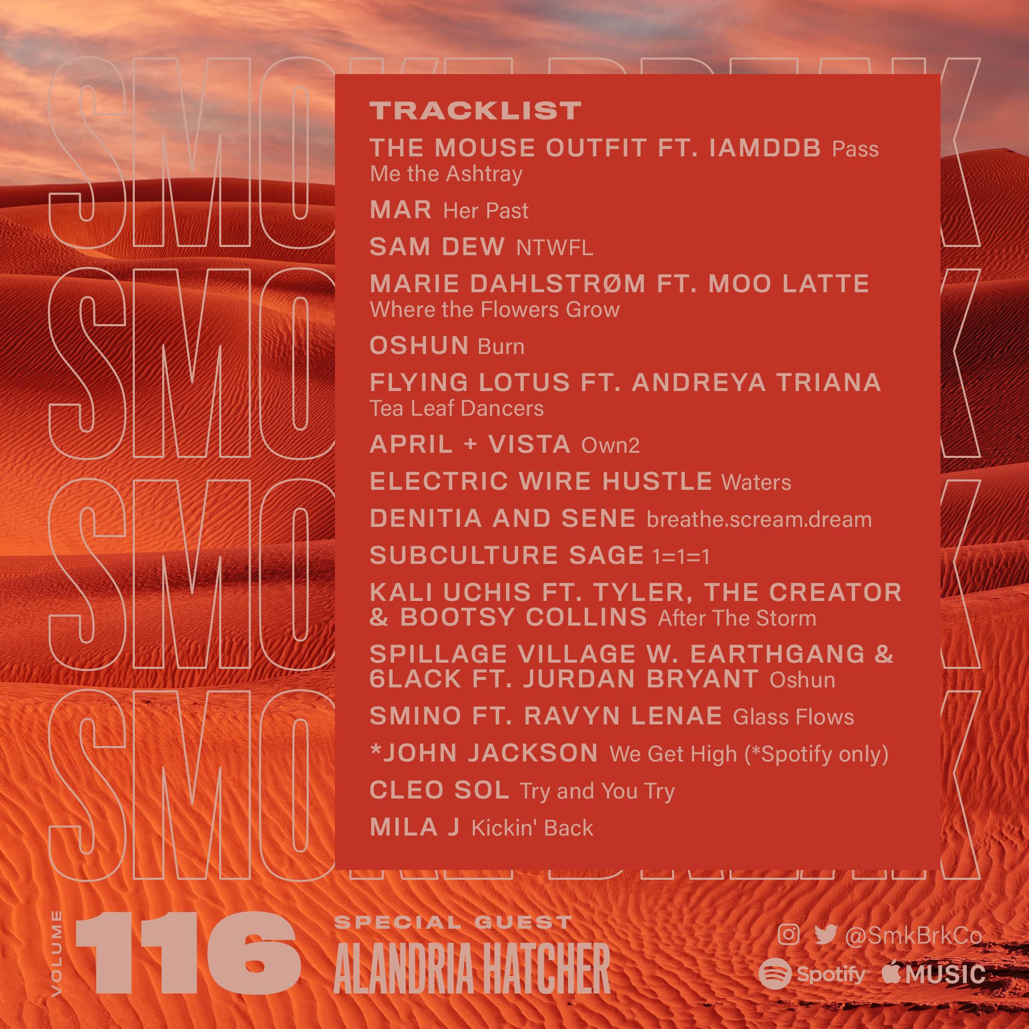 SMK BRK playlist vol 116 back cover