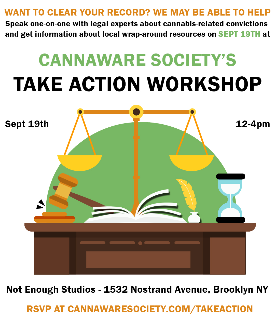 Cannaware Society Take Action Workshop