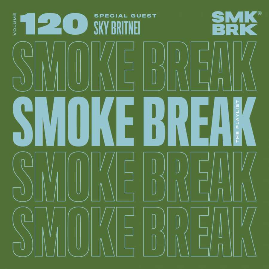 SMK BRK playlist vol 120 front cover sky britnei